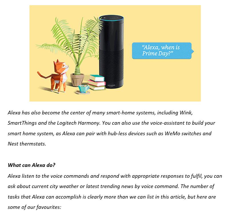 Amazon Alexa: Taking People To Next World – Ramarson